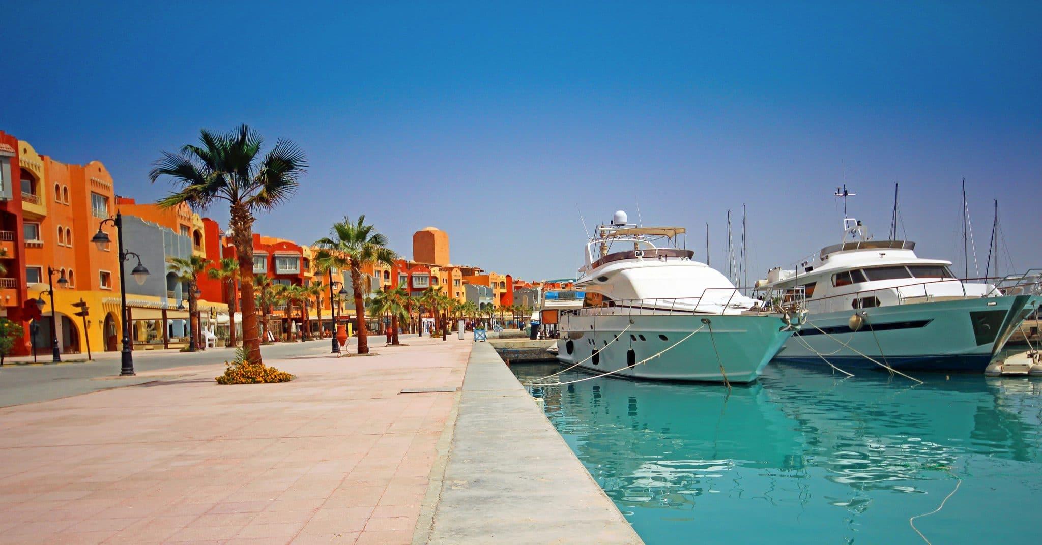 Hurghada Marina Boulevard scaled